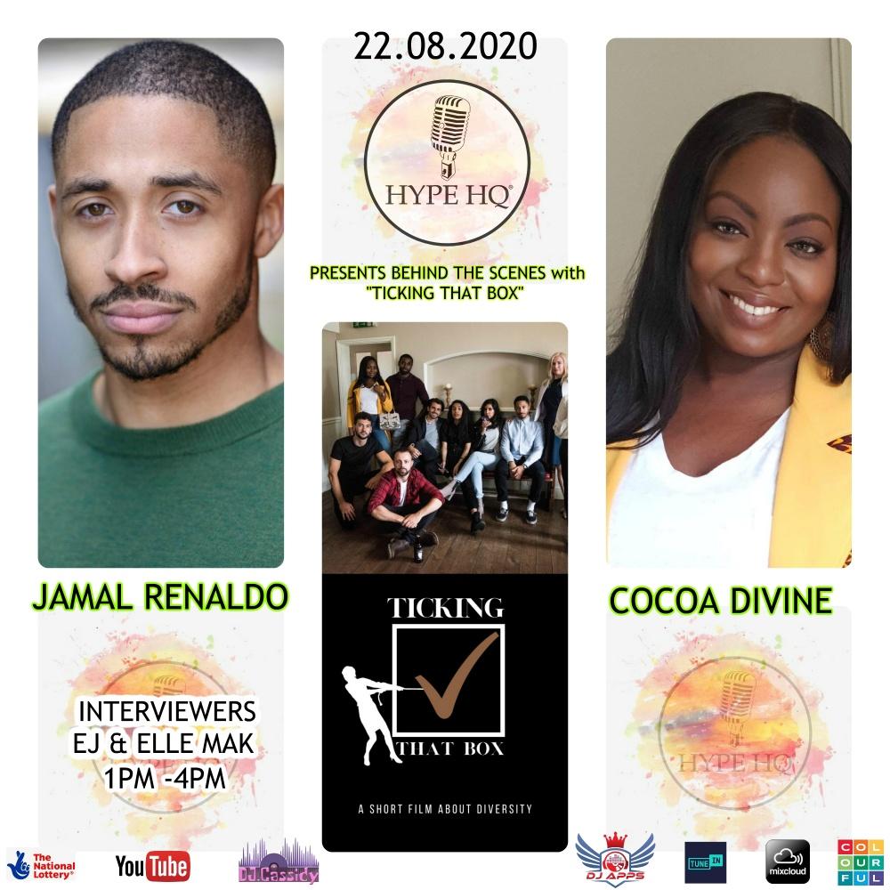 Jamal Renaldo and Cocoa Divine
